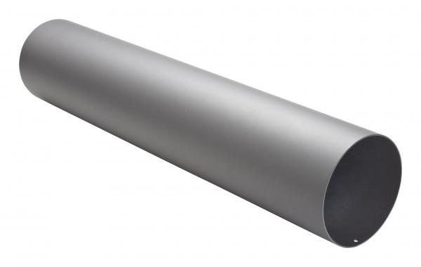 Rauchrohr Stahl 750 mm Ø 150 mm hellgrau mit Kondensring