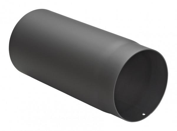 Rauchrohr Stahl 330 mm schwarz