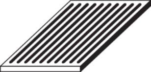 Ofenrost Gusseisen, 16 x 28 x 1,5 cm