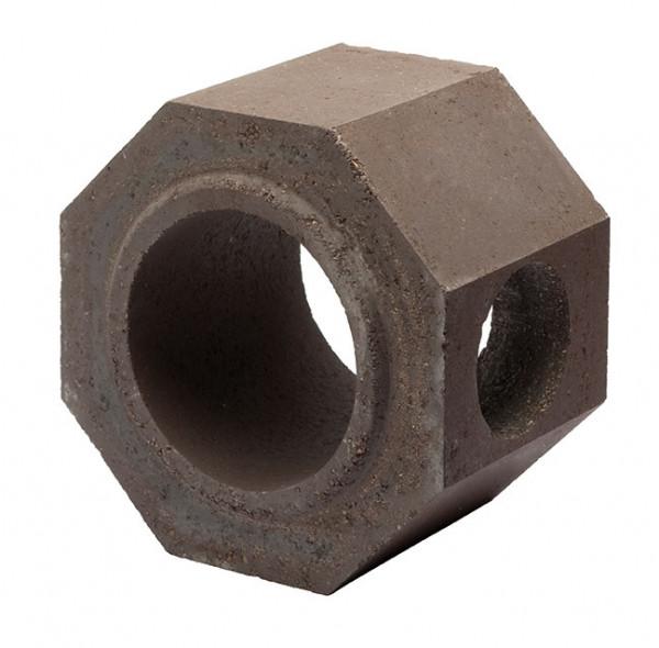 Keramik Modul Speicher 300 Rohr mit Bohrung 300 x 300 x 200 mm, Ø 180 mm