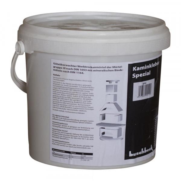 Garten-Kaminkleber 2 kg grau