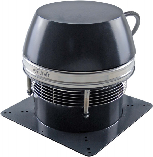 Rauchsauger Exodraft RSHT 012 horizontal. Hochtemperaturbeständig