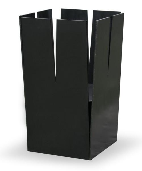 Ricon Feuerkorb TURM KLEIN, Stahl geölt, 35 x 35 cm