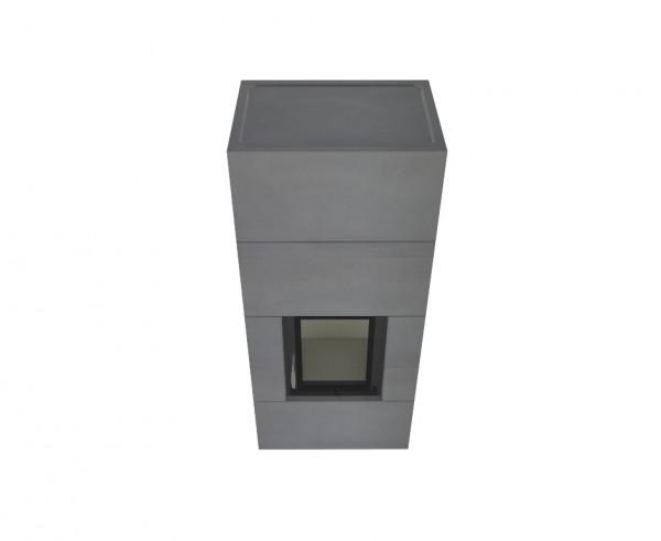Kaminbausatz wasserführend Brunner Systemofen BSO 04 HKD 2.2k SK, 8 kW