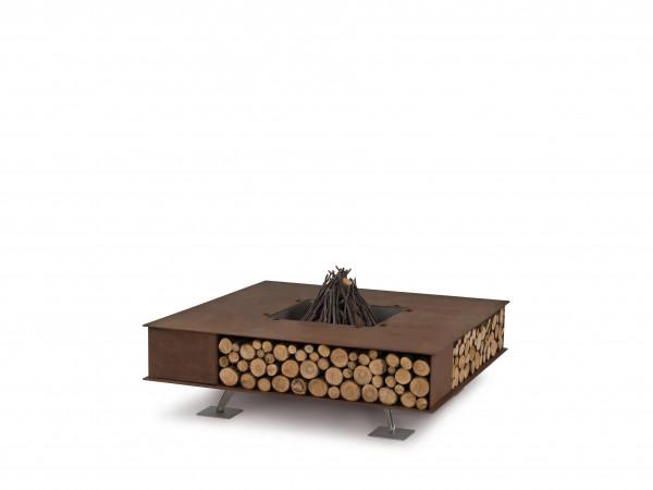 Feuerschale TOAST rost, 390 x 1200 x 1200 mm