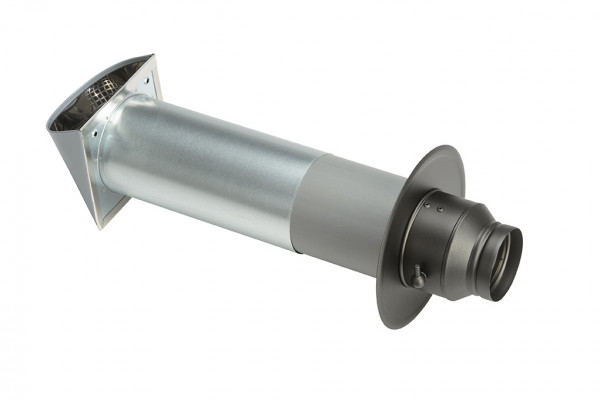 Verbrennungsluftset mit Einzelklappe