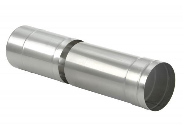Längenausgleichsrohr 330-500 mm Edelstahl einwandig - eka complex E