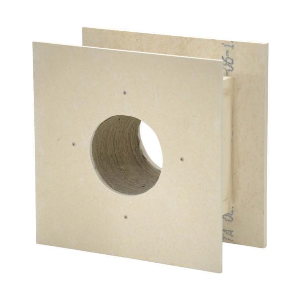 Brandschutz Deckendurchführung 0°, Wandstärke bis 240 mm