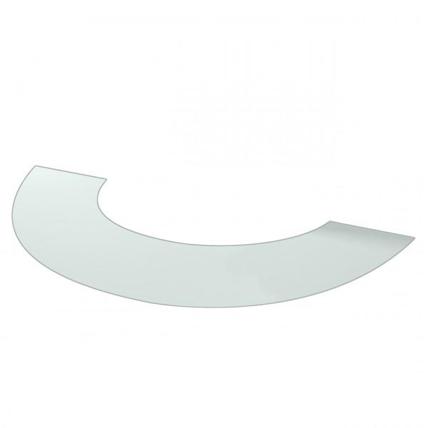 Vorlegeplatte ESG Klarglas Kaminofen ME Sockel klar