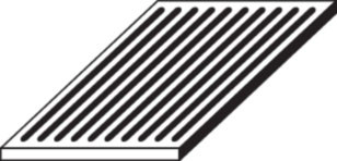 Ofenrost Gusseisen, 20 x 34 x 1,5 cm