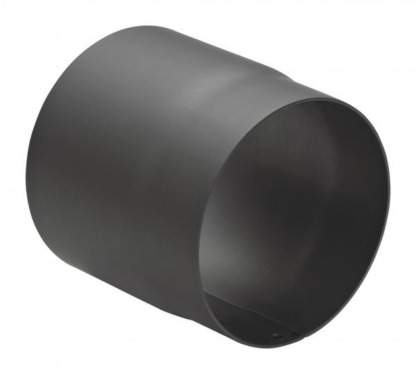 Rauchrohr Stahl 150 mm schwarz