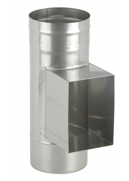 Prüföffnung mit Kasten 140 x 200 mm Edelstahl einwandig - eka complex E