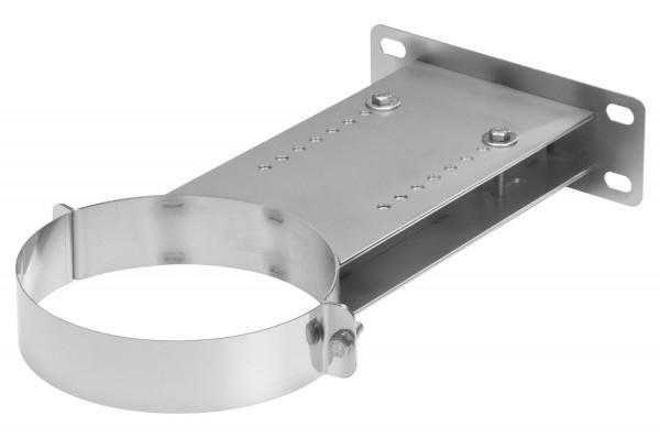 Wandhalter verstellbar 250-400 mm Edelstahl doppelwandig - eka complex D 25
