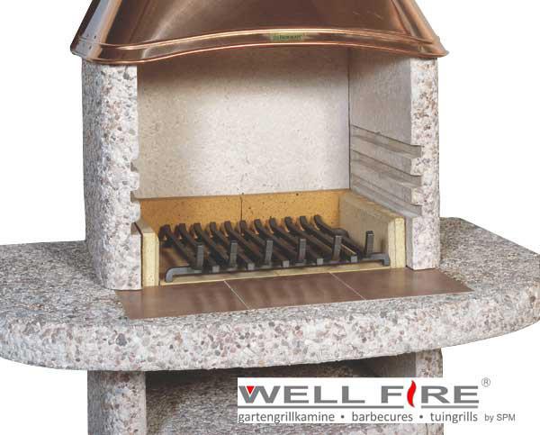 Feuerrost für Grillkamine, 43 x 36 cm