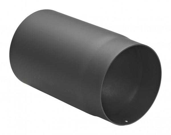 Rauchrohr Stahl 250 mm schwarz