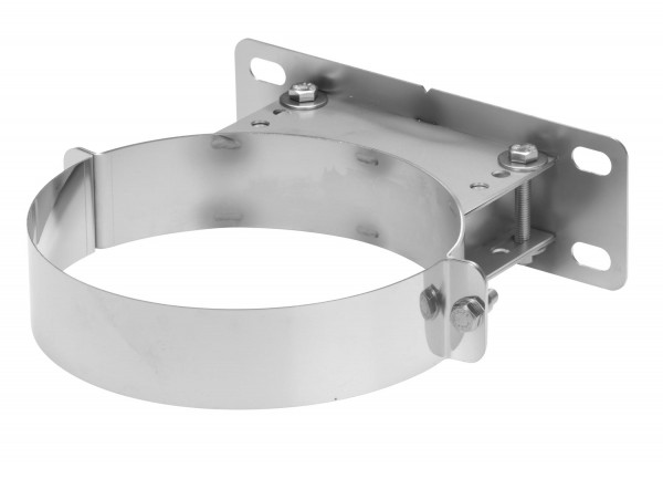 Wandhalter verstellbar 50-90 mm Edelstahl doppelwandig - eka chromos D 25