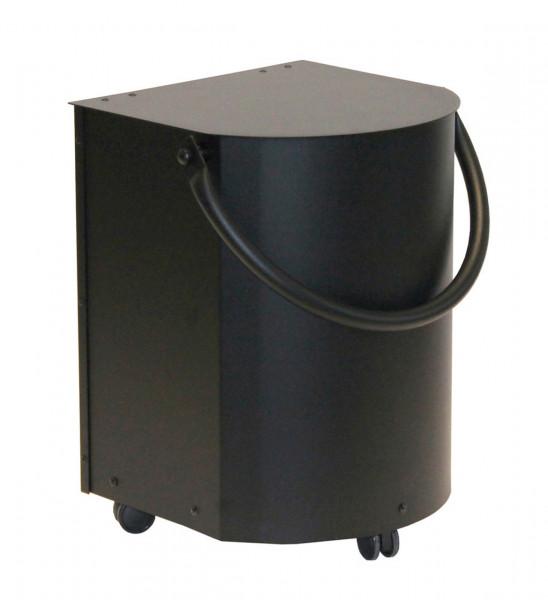 Pelletbox 20 kg halbrund Lienbacher, schwarz
