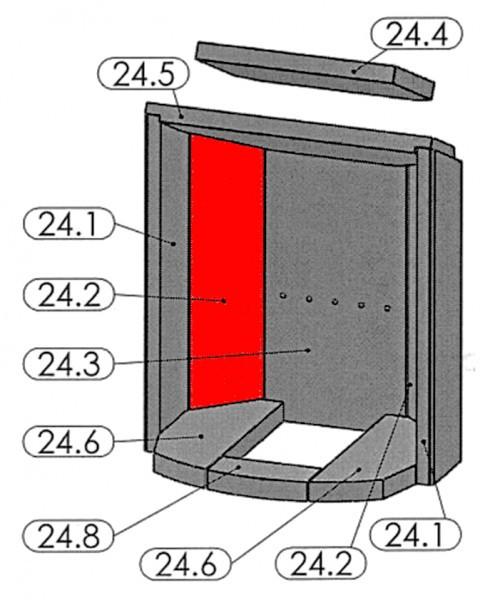 Oranier Pori 7 Seitenstein links hinten A