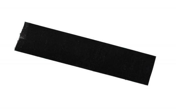 Hitzebeständiges Klebeband 100 x 10 mm, schwarz