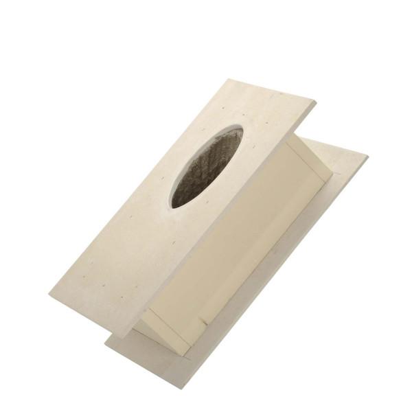 Brandschutz Dachdurchführung 10°, Wandstärke bis 300 mm