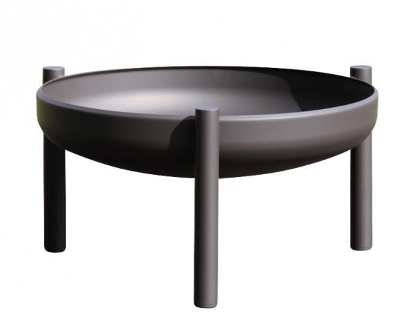 Ricon Feuerschale 0504, beschichtet, schwarz, Ø 80 cm